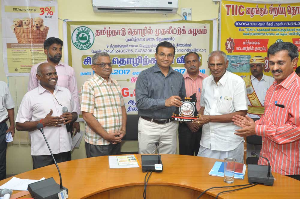 - Trichy District Collector inaugurating Special Business Campaign of TIIC , 2017